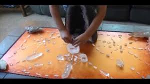 negative energy experiment 8 year old kid builds crystal grids to clear negative energy and
