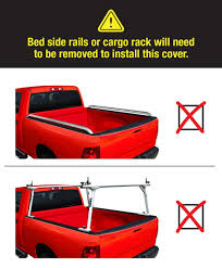 Ford F350 Truck Bed Dimensions - amazon com premium tcf169028 roll up tonneau truck bed cover 1999