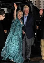 wedding dress chelsea clinton glams it up with a fab dress at chelsea s pre