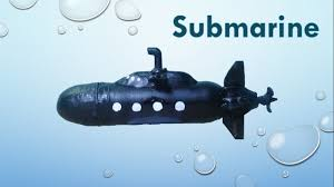 how to make a toy submarine youtube