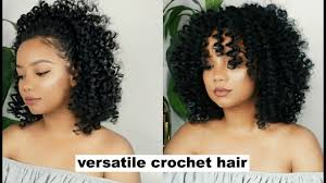 youtube crochet hairstyles on thinning hair versatile crochet jamaican bounce hair samsbeauty youtube