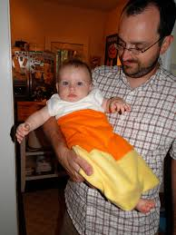 Candy Corn Baby Halloween Costume 15 Adorably Edible Halloween Costumes Babies Kids