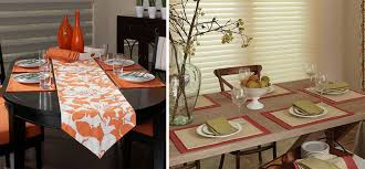 table runner or placemats custom table runners and placemats if you can t quite find that