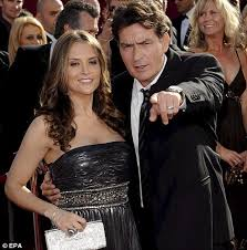 charlie sheen arrested for domestic violence daily mail online