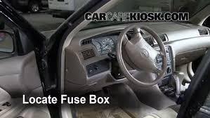 2001 Toyota Avalon Interior Interior Fuse Box Location 1997 2001 Toyota Camry 2000 Toyota