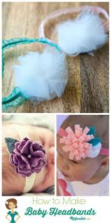 how to make headbands for babies 26 easy how to make hair bows step by step tip junkie