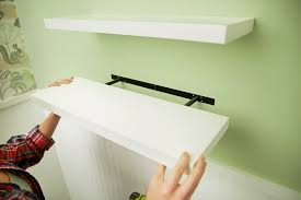 Hanging Floating Shelves by How To Install Floating Shelves The Home Depot Blog