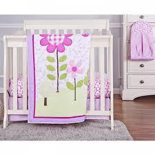 Portable Crib Bedding Garden 5 Pc Set Reversible Portable Crib Set On Me