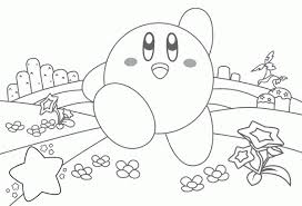 15 kirby coloring pages print color craft