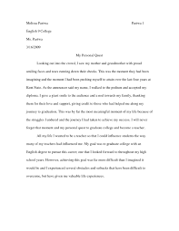 family essay examples samples of essay