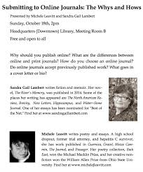 covering letter for manuscript submission in a journal sandra gail lambert news and events