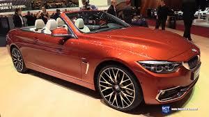 2018 bmw 4 series 430i luxury cabriolet exterior interior