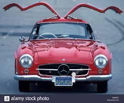 cars mercedes red car mercedes 300 sl sports car model year 1954 63 vintage car
