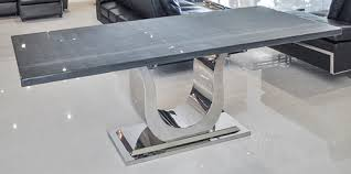 uscio iv modern marble dining table