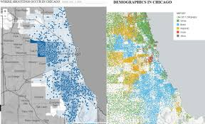 Chicago Demographics Map by Black Ghettos Blackghettos Twitter