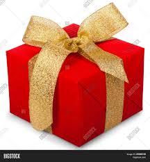 big present bow christmas gift box gold ribbon bow image photo bigstock