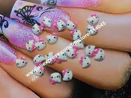 3d cartoon character nail art images