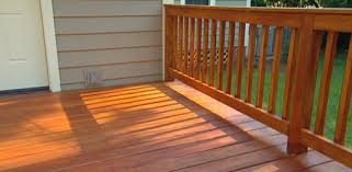 whether to paint or stain a wood deck today u0027s homeowner