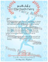 tooth fairy gift tooth fairy letters tooth fairy