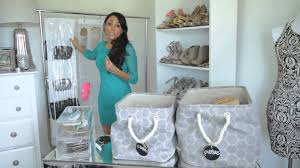 Clothing Storage Solutions by Storage Ideas For Shoes U0026 Purses Fashion U0026 Style Tips Youtube