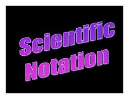 scientific notation significant digits worksheet 1