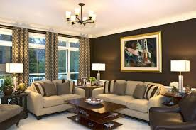 nice decorating ideas for living room with blue tv wall design