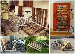 Wooden Pallet Design Software Free Download by Diy Bike Racks 14 Ways Of Building Your Own Pallet Bike Rack