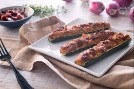giallo zafferano cucina vegetariana ricetta zucchine ripiene vegetariane la ricetta di giallozafferano