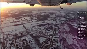 Hillsdale michigan airport flyover kjym