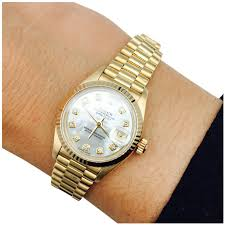golden rolex rolex watch oyster perpetual datejust automatic winding yellow
