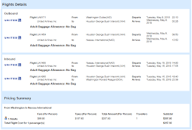 baggage allowance united airlines washington dc to the bahamas for only 257 roundtrip