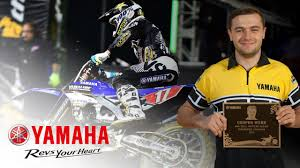 yamaha motocross helmet cooper webb 2015 yamaha wall of champions youtube