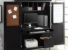Desk With Printer Storage Home Office Work Desk Ideas Home Offices Design Office Desks And