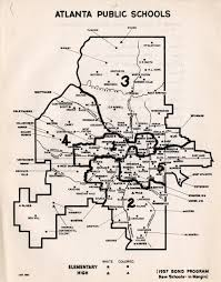 Atlanta On Map by Emory Libraries Blog Naacp And Desegregation