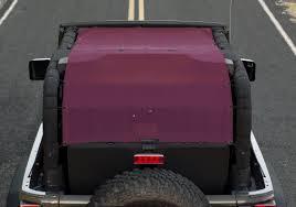 long jeep alien sunshade extra long jeep wrangler 2 door jk mesh sun shade