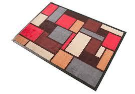schmutzfangmatten design waschbare schmutzfangmatte mosaic