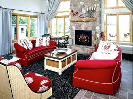 red leather sofa living room red sofa images kaliski co