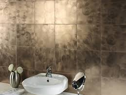 beautiful tile ideas to add distinctive style to your bath metallic tile in the bathroom