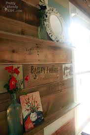 Arts And Crafts Room Ideas - how to install a scrap wood wall pretty handy