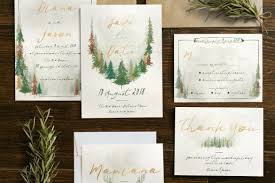 watercolor forest wedding invitation invitation templates