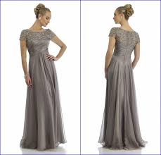 popular mother of the bride dress silver plus size buy cheap plus