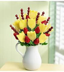 fruit bouquet houston pitcher tulips houston fruit delivery food