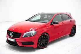A Class Upholstery Iaa 2013 The Brabus Tuning Program For The Mercedes Benz A Class