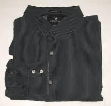 american eagle premium vintage fit striped shirt men u0027s xxlarge 2xl