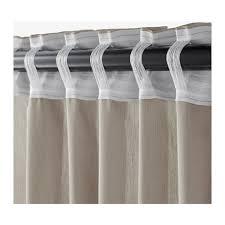 Curtain Track Ikea Vivan Curtains 1 Pair Ikea