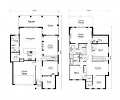 house plans with rear view house plan 5 bedroom house plans australia two storey design with