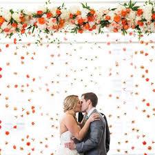 wedding flowers m s wedding flower wall ideas brides