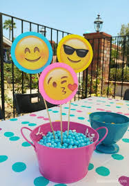birthday party ideas emoji birthday party ideas diy inspired