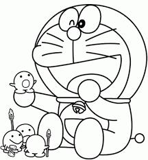 cartoon drawing and coloring relaxing doraemon cartoon coloring