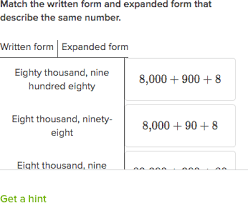numbers in expanded form writing a number in expanded form khan academy